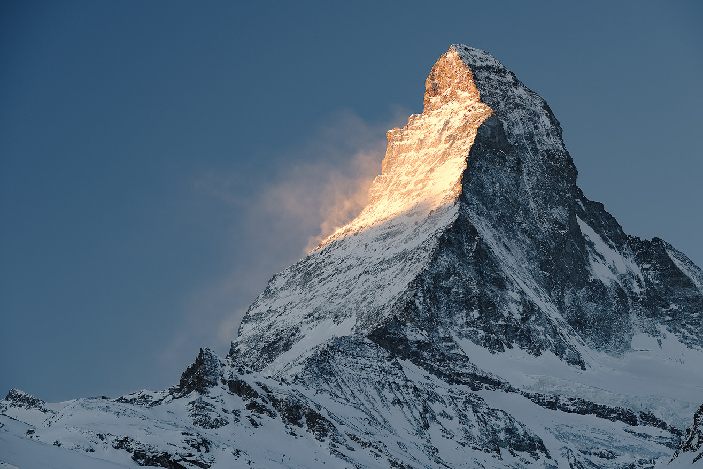 Matterhorn on Fire, Switzerland by Nils Leonhardt