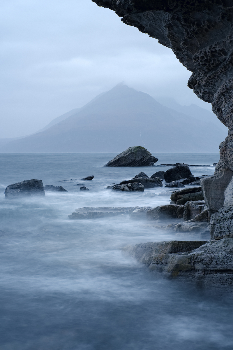 Wave Stucture, Elgol, Scotland by Nils Leonhardt