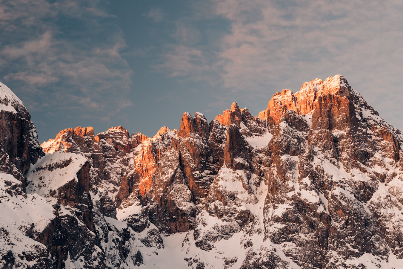 First Light, Sexten Dolomites, South Tyrol, Italy by Nils Leonhardt