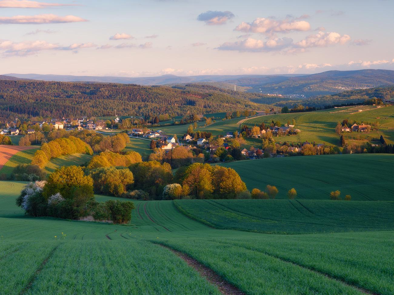 Hartenstein, Erzgebirge, Germany by Nils Leonhardt
