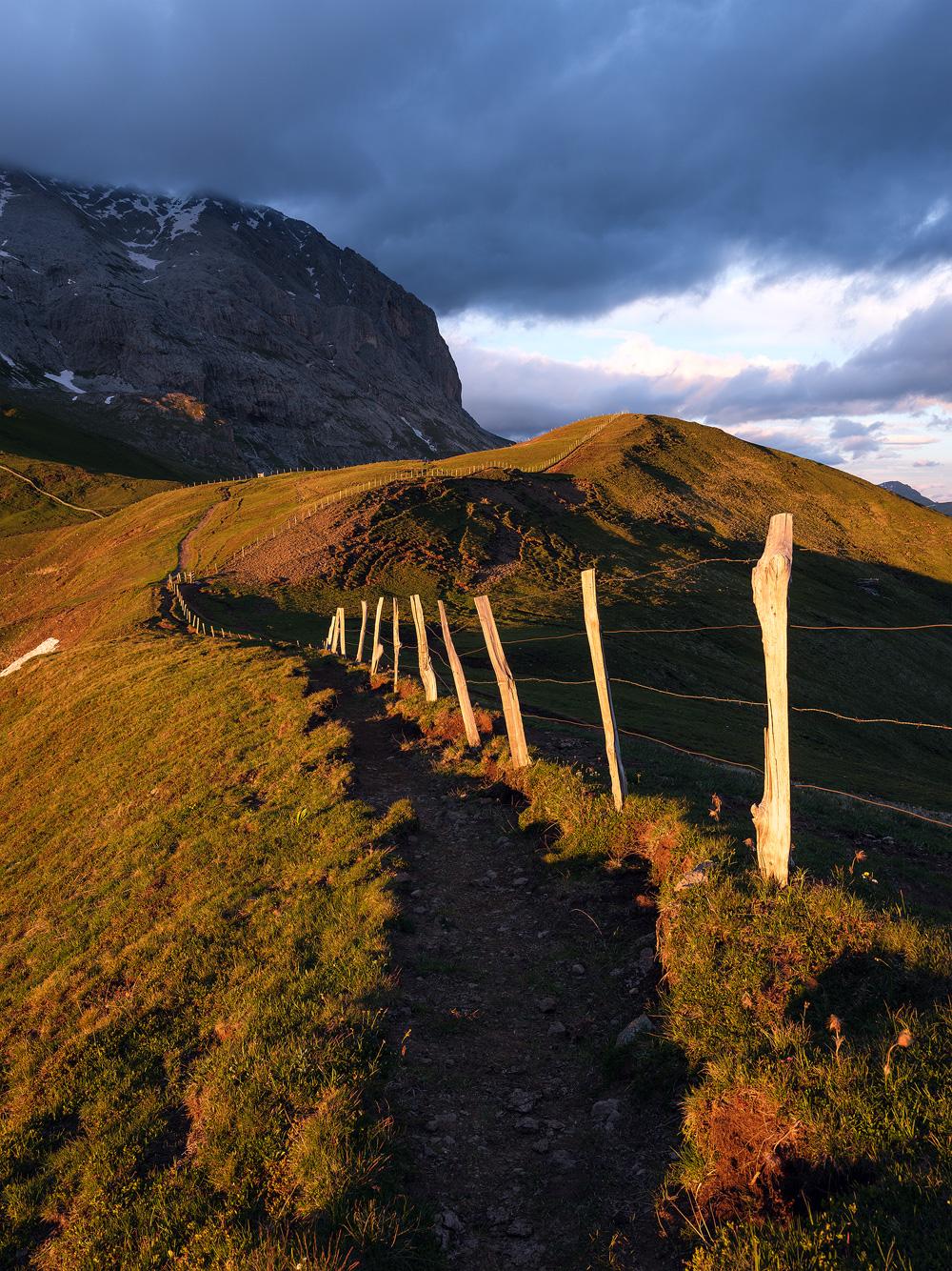 Approaching Plattkofel, Dolomites, Southy Tyrol, Italy by Nils Leonhardt.jpg