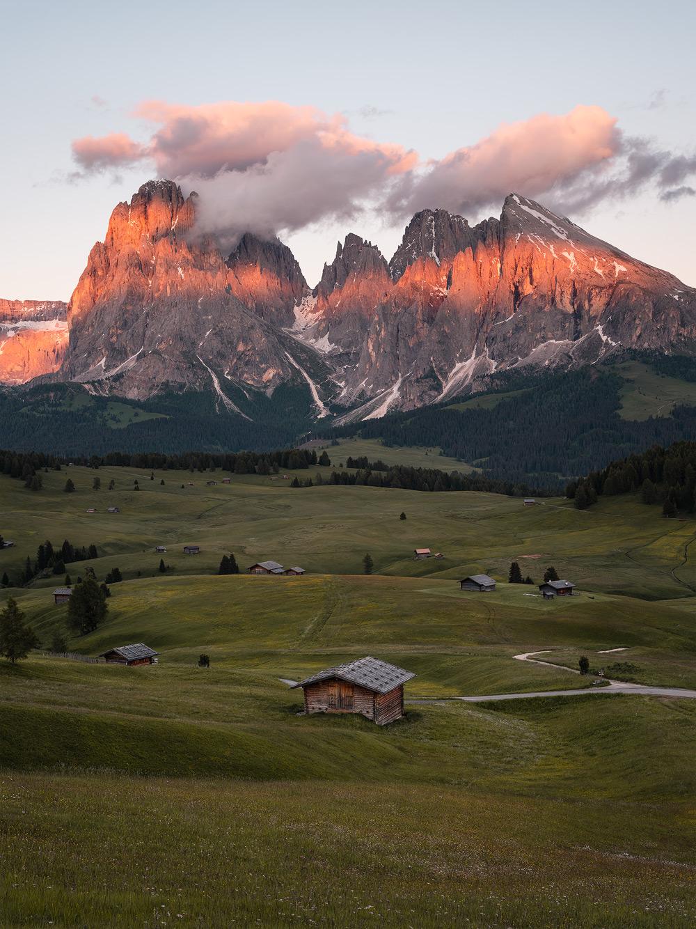 Alpe di Siusi & Langkofel Group, Dolomites, South Tyrol, Italy by Nils Leonhardt