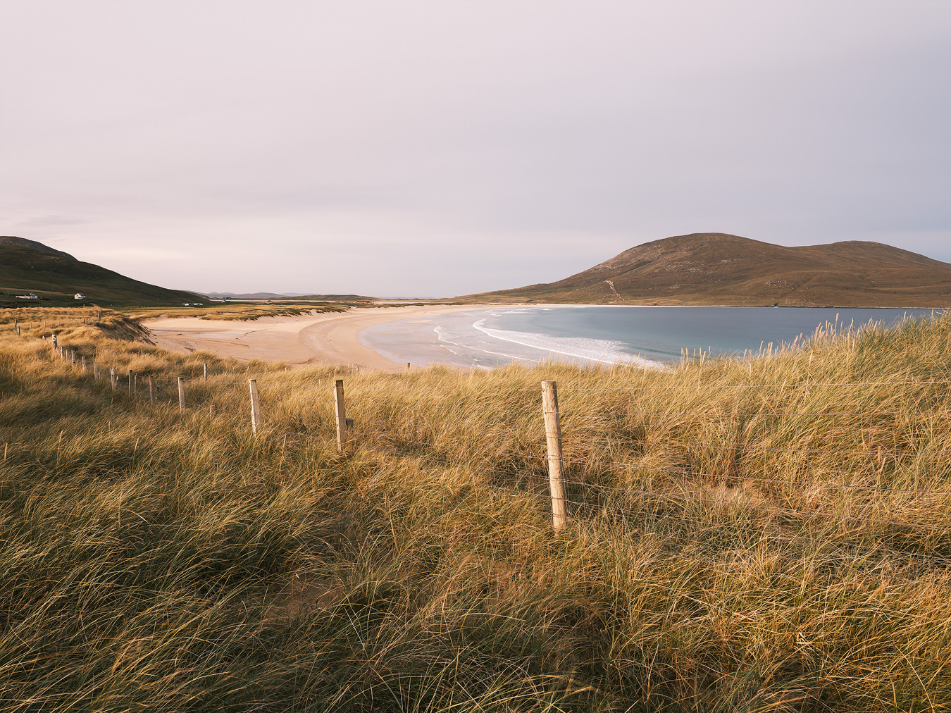 Scarista Beach, Isle of Harris, Scotland by Nils Leonhardt